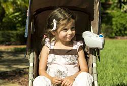 Fan On The Baby Stroller